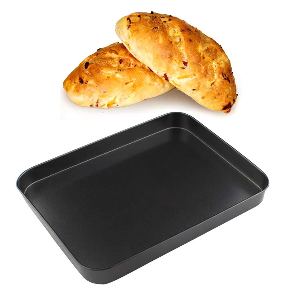 Rectangle Cake Tin 24182.5CM Non-Stick Carbon Steel Traybake Pan Toaster Oven Pan Tray Ovenware Baking Tool