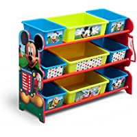 Delta Children 9 Bin Plastic Organizer (Disney Mickey Mouse)