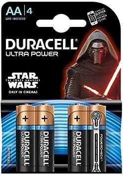 Duracell - Pila Alcalina - AAx4 Ultra Power