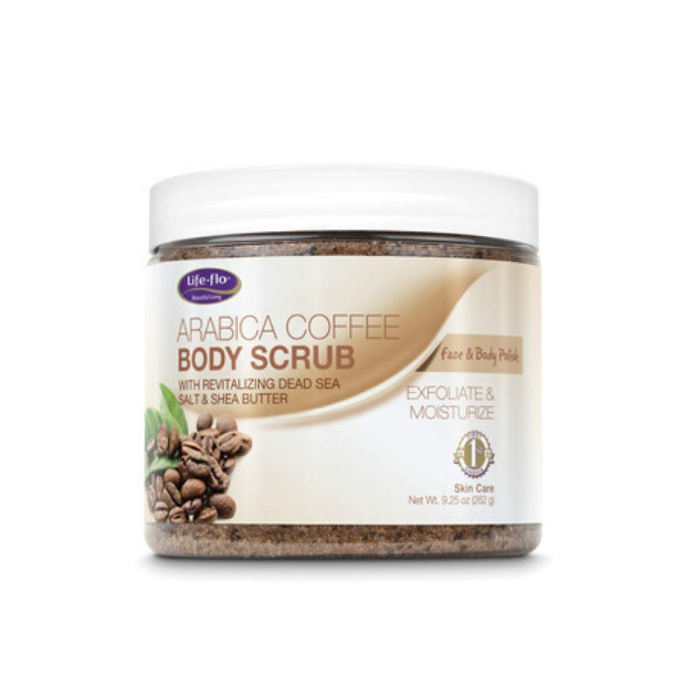 LifeFlo Arabica Coffee Body Scrub | 9.25 oz