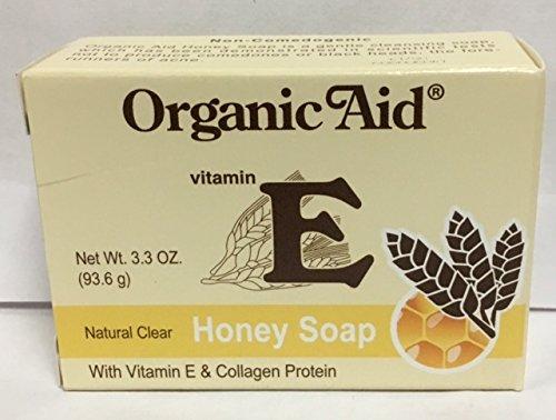 Organic Aid - Natural Clear Honey Soap