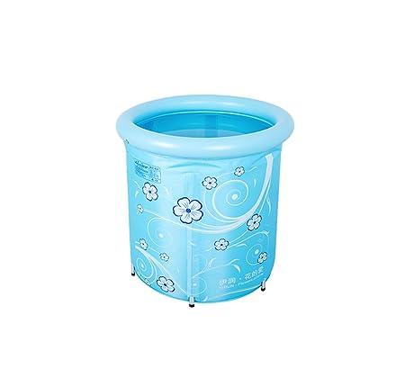 CZWYF Bañera Inflable Bañera De Plástico Inflable Portátil para ...