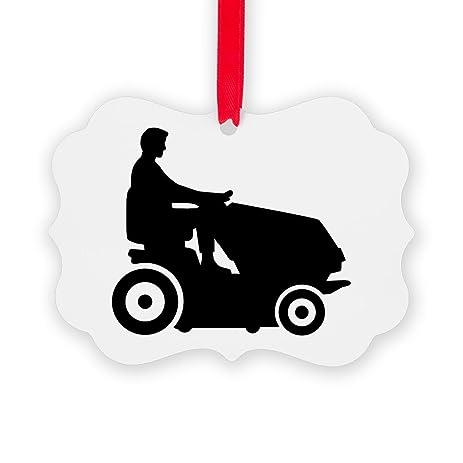 CafePress - Lawn Mower Driver - Christmas Ornament, Decorative Tree Ornament - Amazon.com: CafePress - Lawn Mower Driver - Christmas Ornament