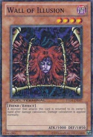 Yu-Gi-Oh! - Wall of Illusion (DT04-EN057) - Duel Terminal 4 - 1st Edition - Common (Wall Illusion)