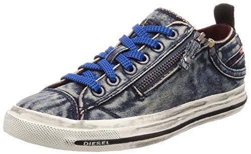 Diesel Women's Magnete Expo-Zip Low W Sneaker, Insignia Blue, 6.5 M ()