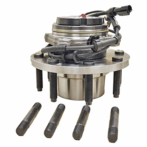 HU515056K x 1 Brand New Wheel Bearing Hub Assembly Front Left Or Right Side (4WD Fine Thread 8 Lug Single Rear Wheel)