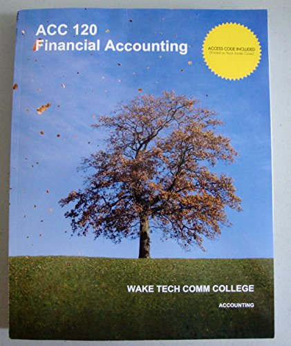 Financial Accounting (Wake Tech Comm College)