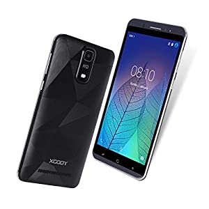 Xgody Y18 Cell Phone Unlocked Dual SIM Android 5.1 6 inch Unlocked Smartphone RAM 1GB/ROM 16GB Quad-core for AT&T T-Mobile Straight Talk WCDMA GSM Celulares desbloqueados