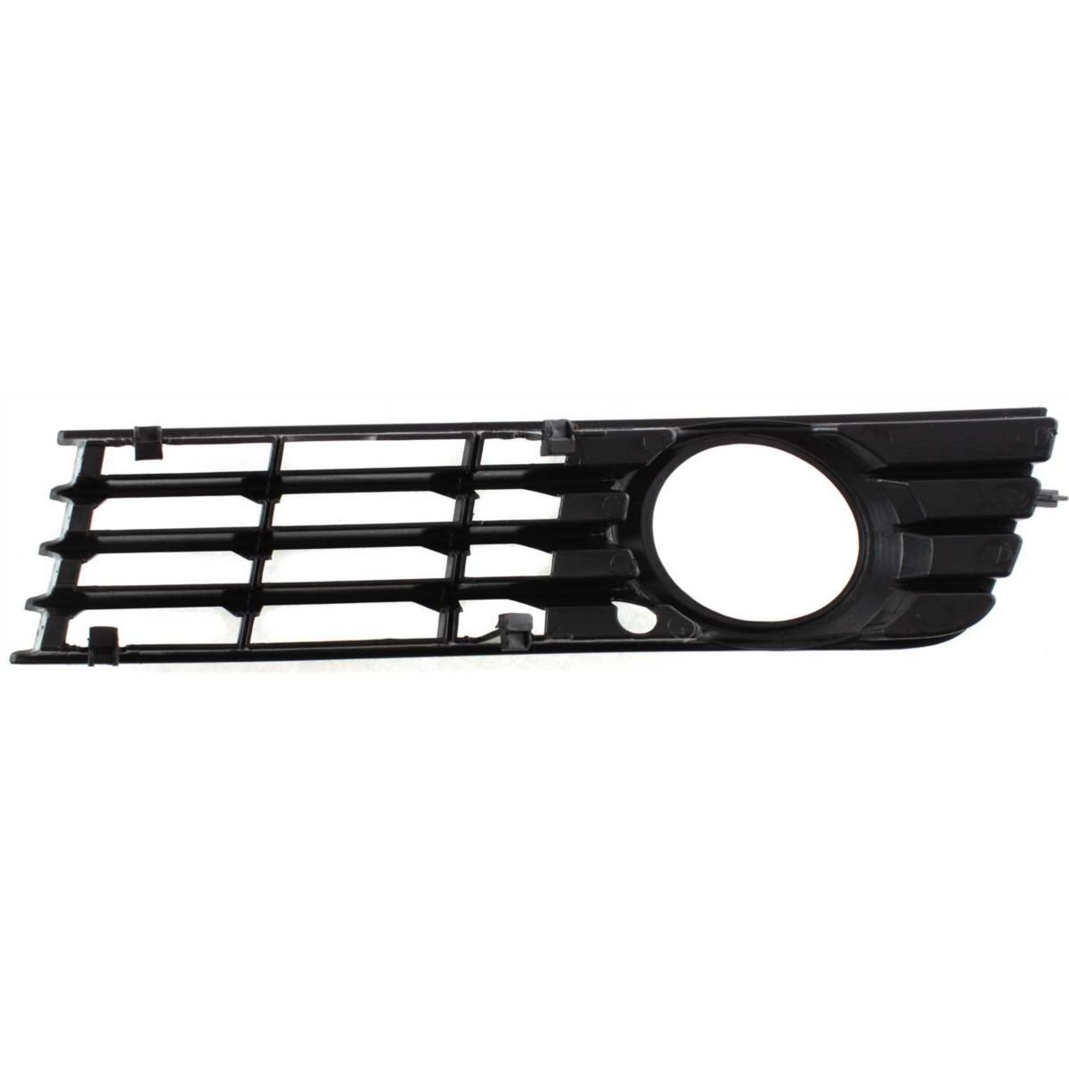 DAT Replacement 02-05 Audi A4 Type 1 Black Front Bumper Cover Outer Grille Right Passenger Side AU1039102