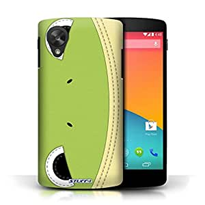 STUFF4 Phone Case / Cover for LG Google Nexus 5/D821 / Frog Design / Animal Stitch Effect Collection