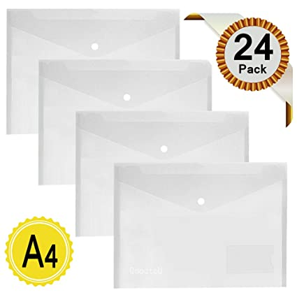 trans klar FolderSys Angebots-Hülle A4 Visitenkarten 1
