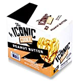 ICON Meals Protein Cookie | The Iconic Cookie | No Eggs, Gluten Free & 15g Protein | 6 Cookies (Peanut Butter)