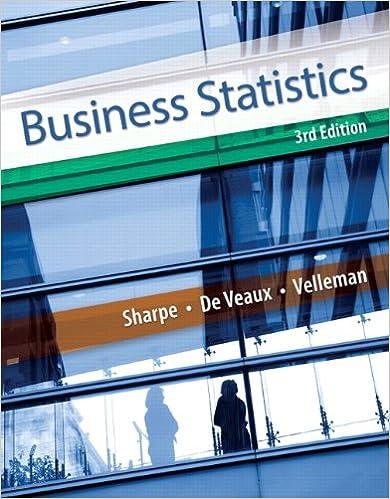 Business Statistics (3rd Edition): Norean D  Sharpe, Richard