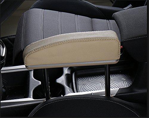 Car Elbow Support Pads Car Central Adjustable Height Comfort Armrest Rest Pads For General Seat Gap Car Driver,Beige