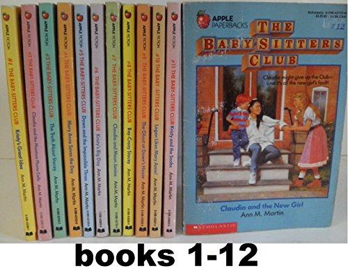 Baby-Sitters Club SET: Books 1-12