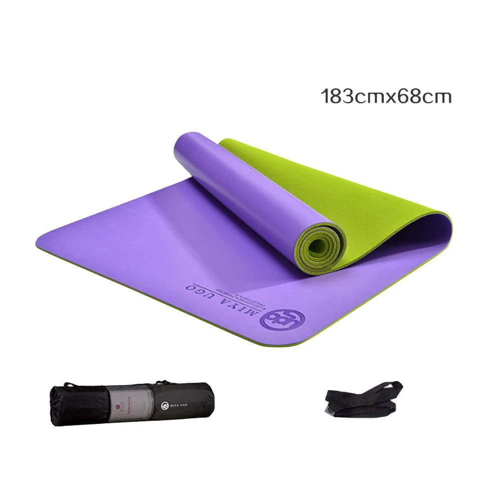 AINIF Naturkautschuk Männer Yoga Matte Sport Fitnessgeräte, 183X68Cmx0.5Cm