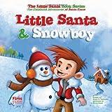 Little Santa and Snowboy