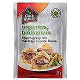Club House, Organic Gravy Mix, Brown, 25g