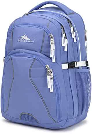 High Sierra Swerve Laptop Backpack - Large Multi-Compartment Design - Ideal  as College or 69dc7ceaec4d1