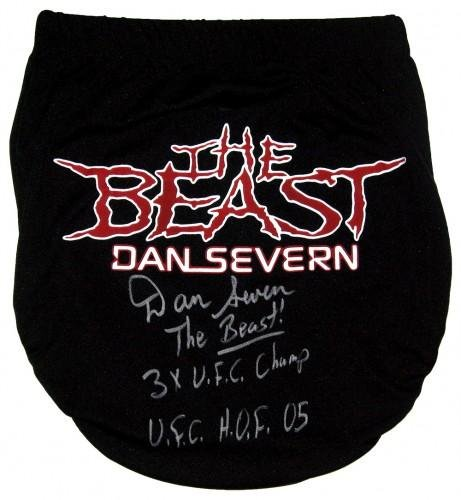 Dan Severn Signed Trunks