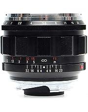 Voigtlander Nokton 50mm f/1.2 asferische VM Leica M Mount Lens - Zwart