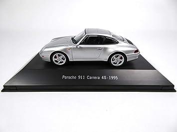 Atlas Porsche 911 Carrera 4S (993) 1995 gray1 / 43 - Ref: 4009: Amazon.es: Juguetes y juegos