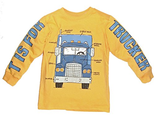 Mulberribush Little Boys' T is for Truck Shirt (4T)