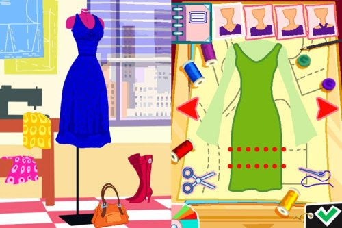 Imagine Fashion Designer New York Nintendo Ds Buy Online In Uae Video Game Products In