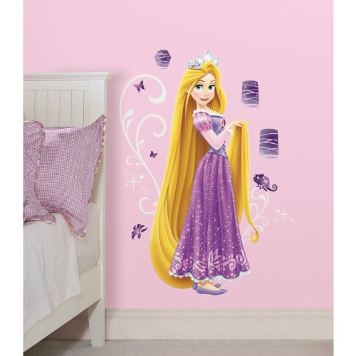 RoomMates RMK2552GM Disney Press Rapunzel Peel and Stick Giant Wall Decals