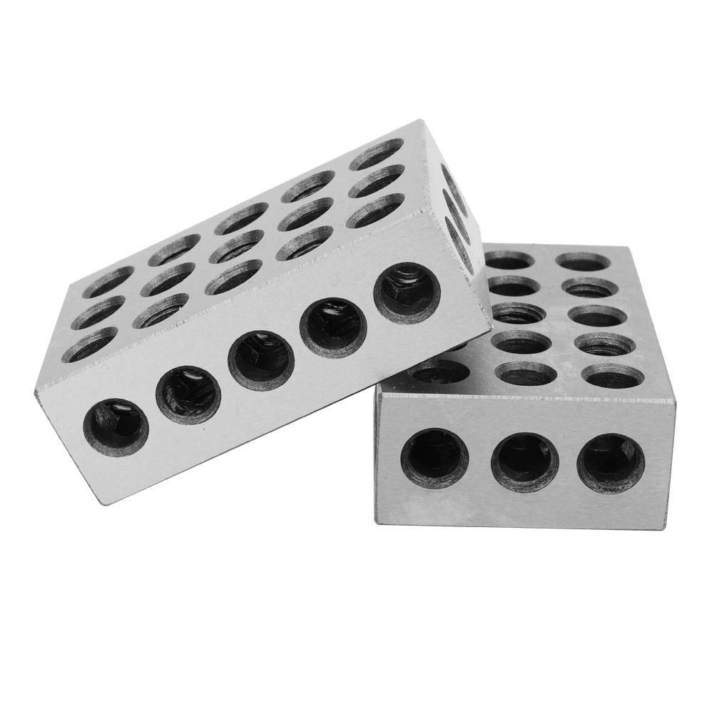 Liukouu 0.0003 High Accuracy 1 x 2 x 3 Blocks 23 Holes Parallel Clamping Block Milling Tool