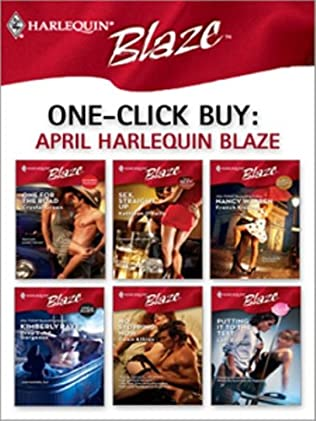 book cover of One-Click Buy: April Harlequin Blaze