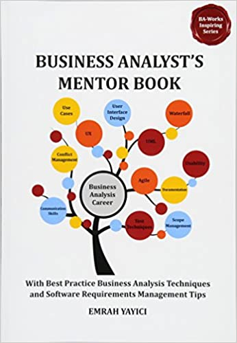 AmazonCom Business AnalystS Mentor Book With Best Practice