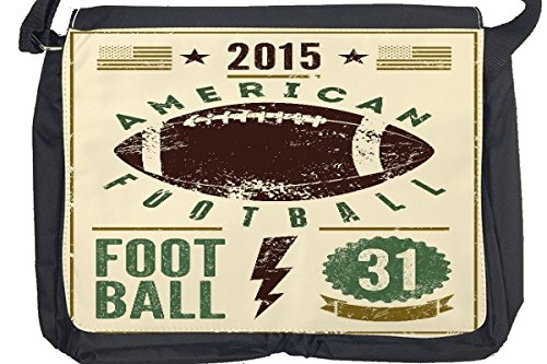 Borsa Tracolla Divertimento Football americano Stampato