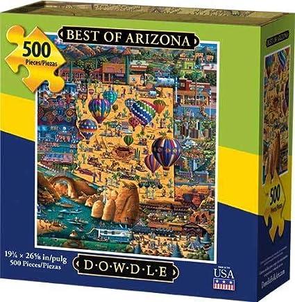Jigsaw puzzle Explore America Scottsdale Arizona NEW 500 piece Made in USA