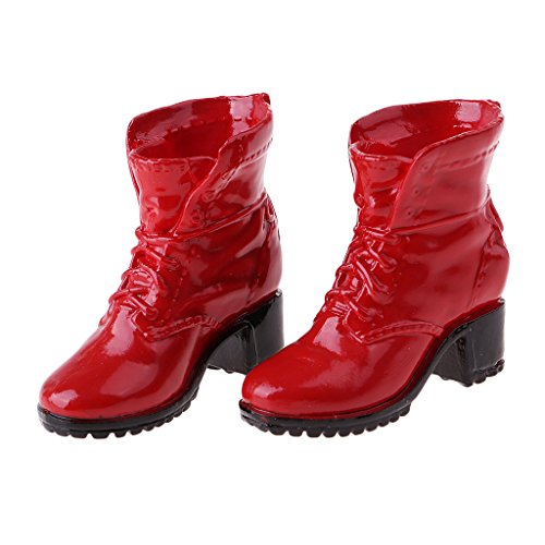 Baoblaze 1/6 Scale Women's Sneakers Shoes Combat Boots For 12