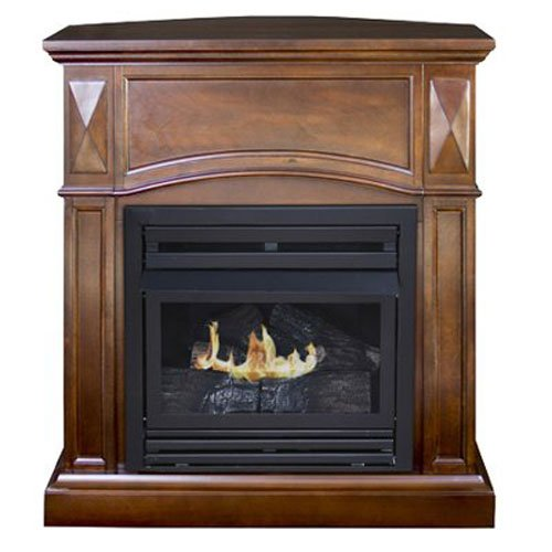 Kozy World 'The Belmont' Compact Freestanding Gas Fireplace