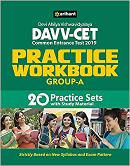 Buy Davv Cet Group A Practice Workbook 2019 Book Online at Low