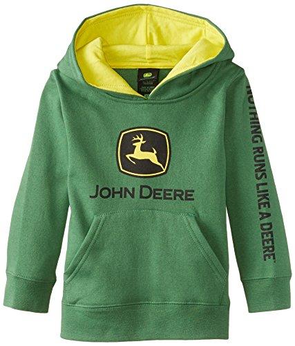 John deere little boys 39 toddler jd logo fleece hoodie for John deere shirts for kids
