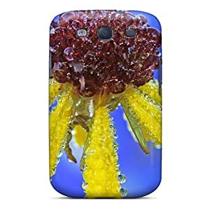 Galaxy S3 Case Cover Skin : Premium High Quality Yellow Petels Case