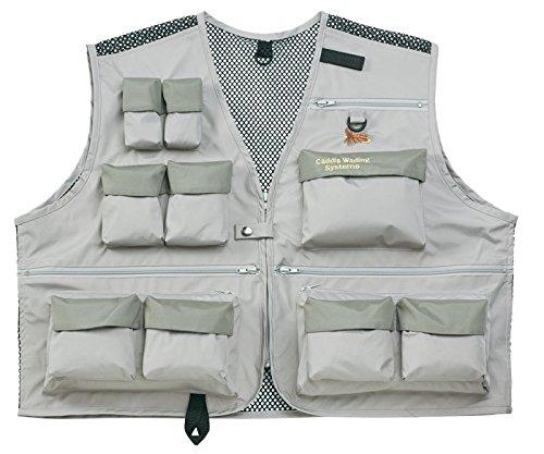 Caddis Deluxe Ultra Lite Breathable Wader Vest, Medium