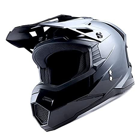 1Storm Adult Motocross Helmet BMX MX ATV Dirt Bike Helmet Racing Style HF801; Sonic Pink
