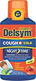 Delsym Children's Night Time Cough and Cold Liquid-Mixed Berry-6 oz
