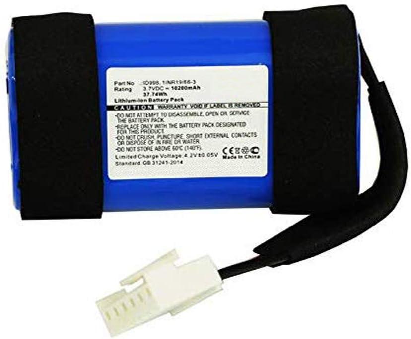 Bateria para JBL Charge 4 10200mAh 3.7V 37.74Wh