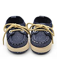 Voberry® Newborn Baby Boys' Premium Soft Sole Infant...