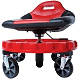 """Traxion 2-700 ProGear Mobile Rolling Gear Seat W/Equipment Tray and All-Terrain 5"""" Casters"""
