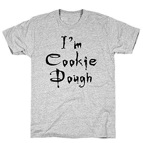 LookHUMAN I'm Cookie Dough Small Athletic Gray Men's