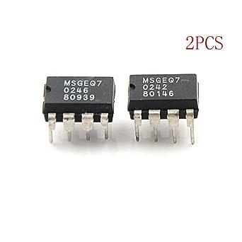 2PCS MSGEQ7 Band Graphic Equalizer IC DIP-8 MSGEQ7: Amazon com