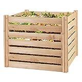 Greenes Fence RCCOMP36 Cedar Wood Composter, 23.25  Cu ft / 173.92 gallons