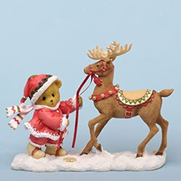 Cherished Teddies Take the Reins for a Happy Holiday