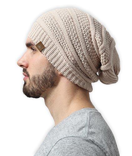 Slouchy Cable Beanie Tough Headwear